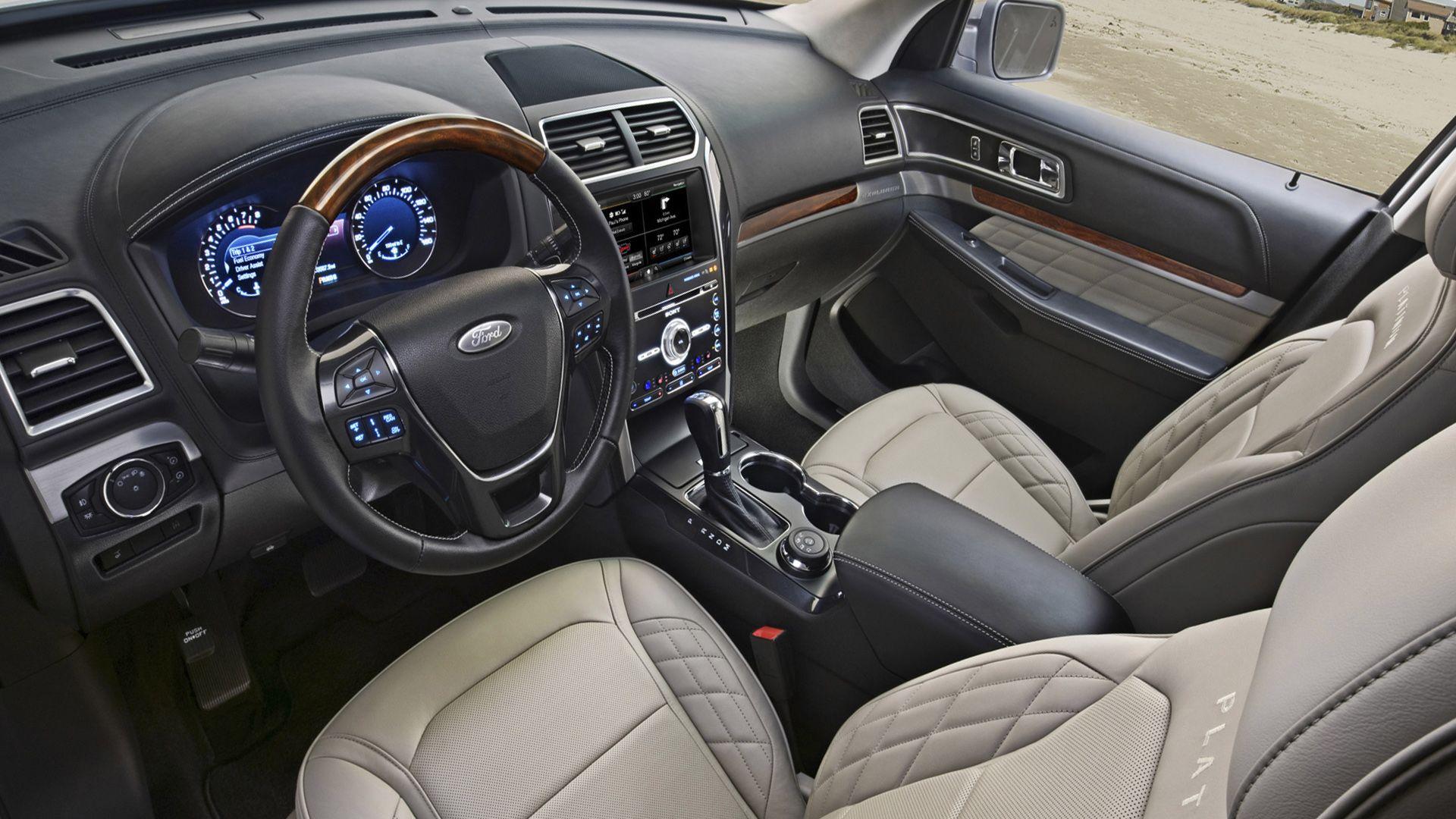 2019 Ford Explorer Interior Design