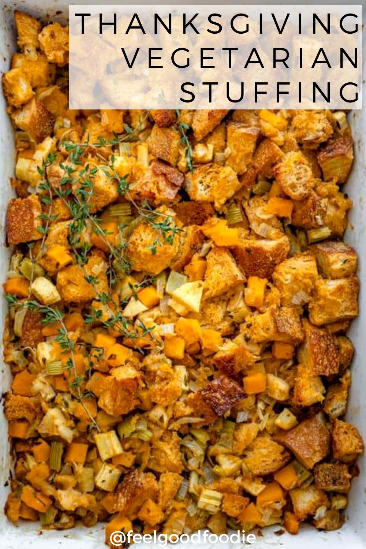 Thanksgiving Vegetarian Stuffing Recipe Vegetarian Stuffing Vegetarian Vegetarian Thanksgiving