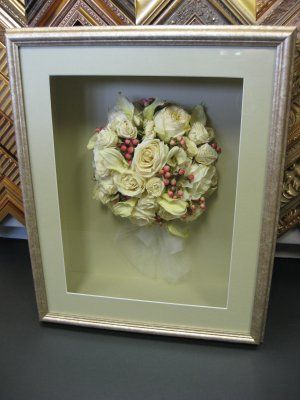 There Are A Few Of These Pins Freeze Dried Wedding Bouquet Professionally Framed