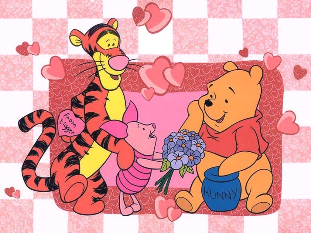 Winnie The Pooh Wallpaper Valentine