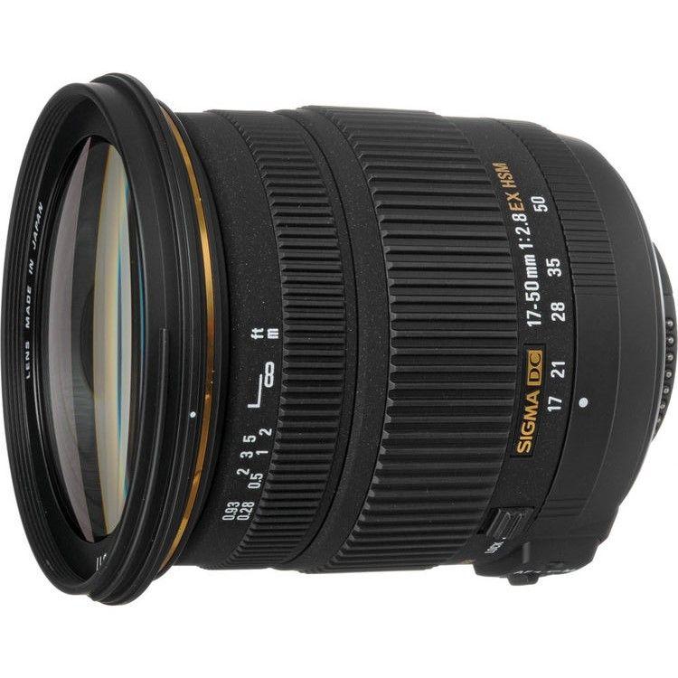 Sigma 17 50mm F 2 8 Ex Dc Os Hsm Sigma Lenses Sigma Zoom Lens