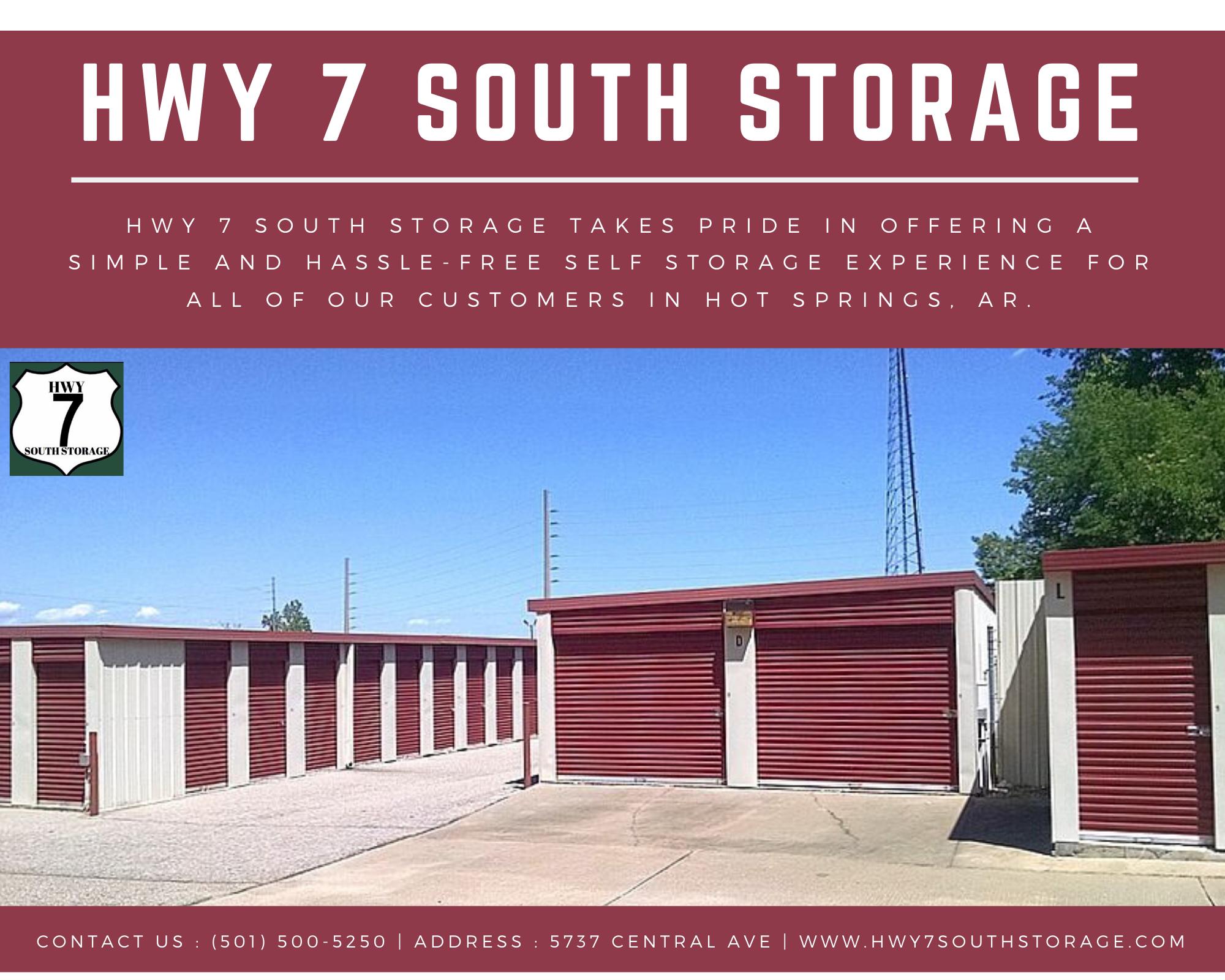 Rental Storage Unit In Hot Spring Self Storage Storage Unit Rental Garage Storage