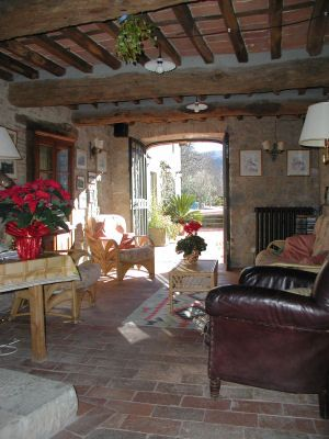 Italian country house style