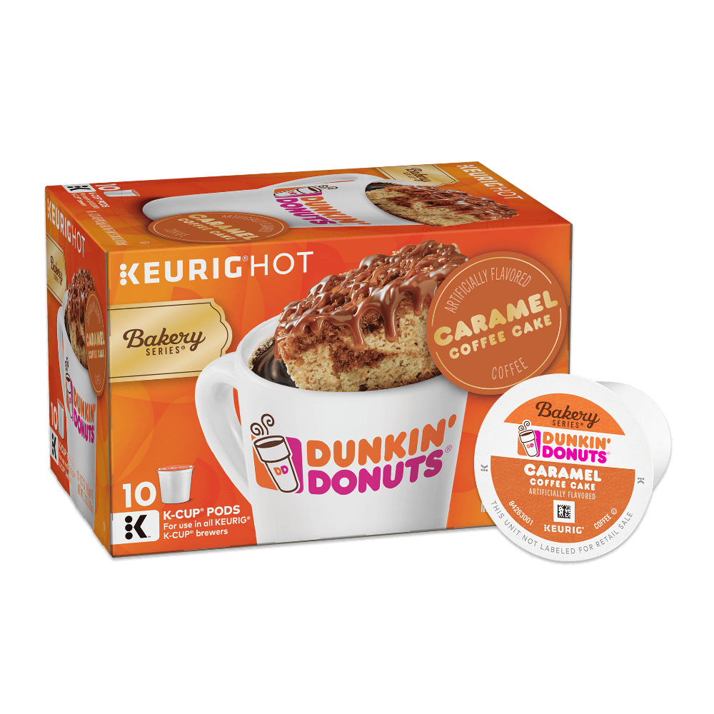 Dunkin' Donuts® Bakery Series® Caramel Coffee Cake