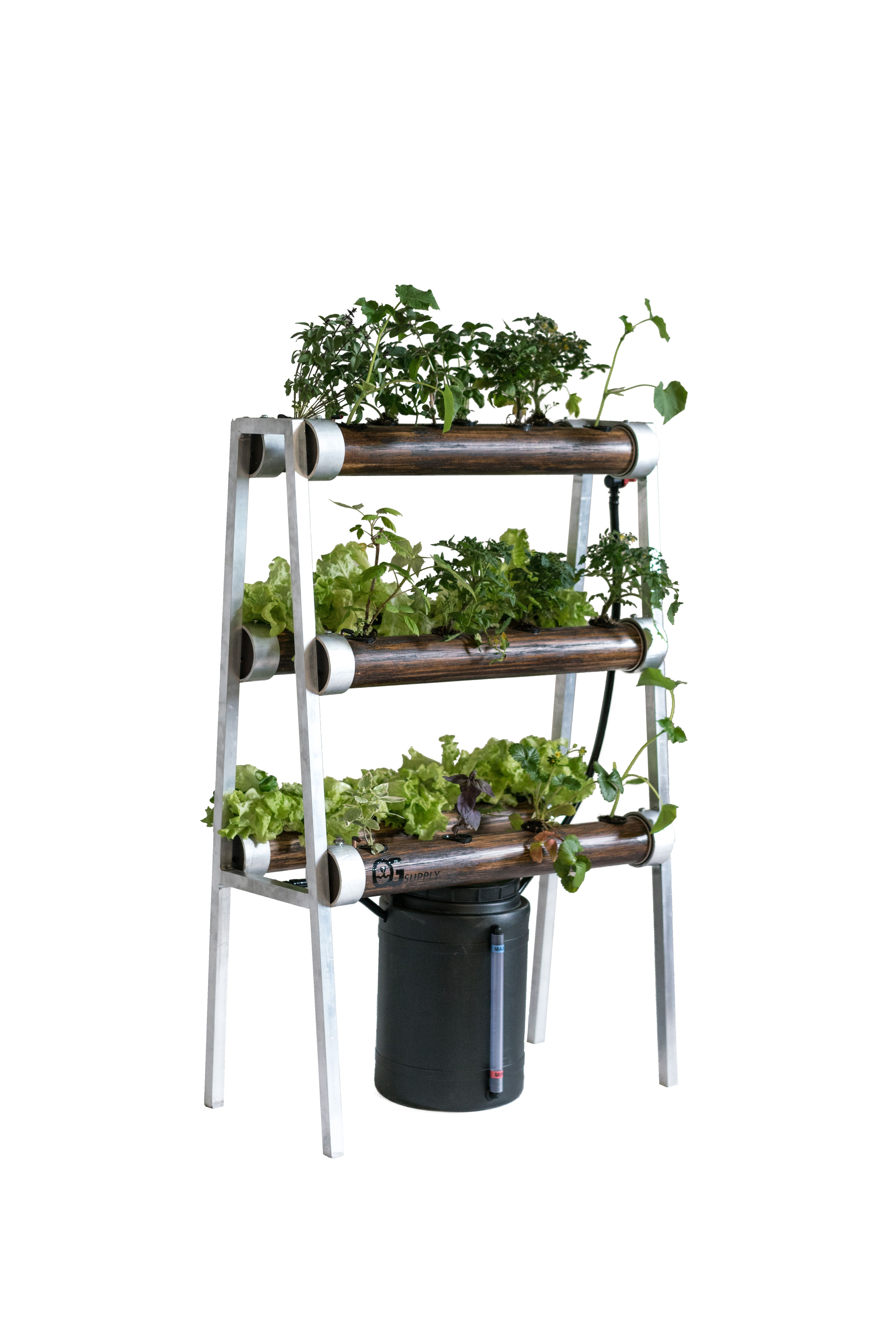 Elegant Hydroponics Urban Garden. This new concept for growing ...