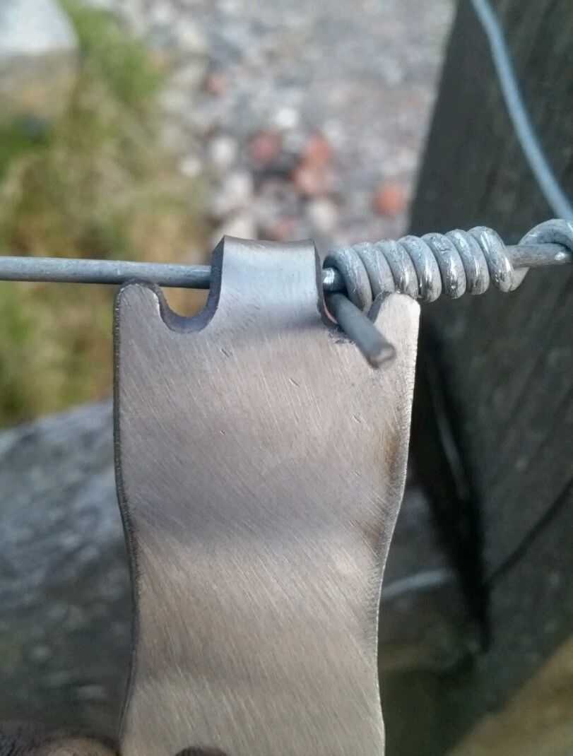 Fencing wire twister tool. Stainless steel! Introductory price ...