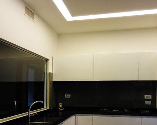 LAMPADE LED A CM STRISCE LED PER CUCINA STILLUCE STORE BERGAMO ...