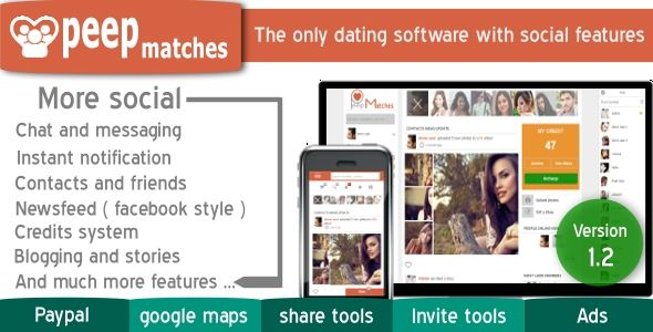 Peepmatches Advanced php dating and social script https