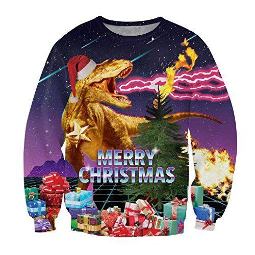 ksjk unisex funny print ugly christmas sweater jumper 031 - Ugly Christmas Sweater Ebay
