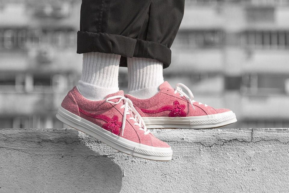 separation shoes 2a3ae ce998 Take an On-Foot Look at the New Converse GOLF le FLEUR  Colorways