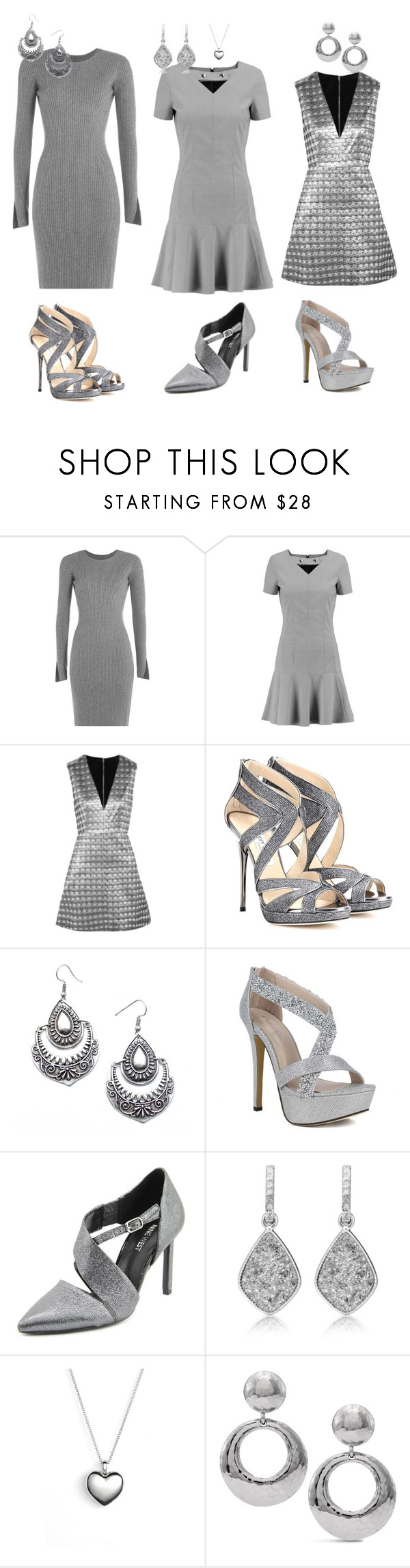 """""""Untitled #2046"""" by sarah-michelle-steed ❤ liked on Polyvore featuring Alexander Wang, Carven, Alice + Olivia, Jimmy Choo, Child Of Wild, Nine West, Pandora, Chico's, women's clothing and women"""