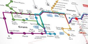 Company Railway and Bus Sierre-Crans-Montana »Buses