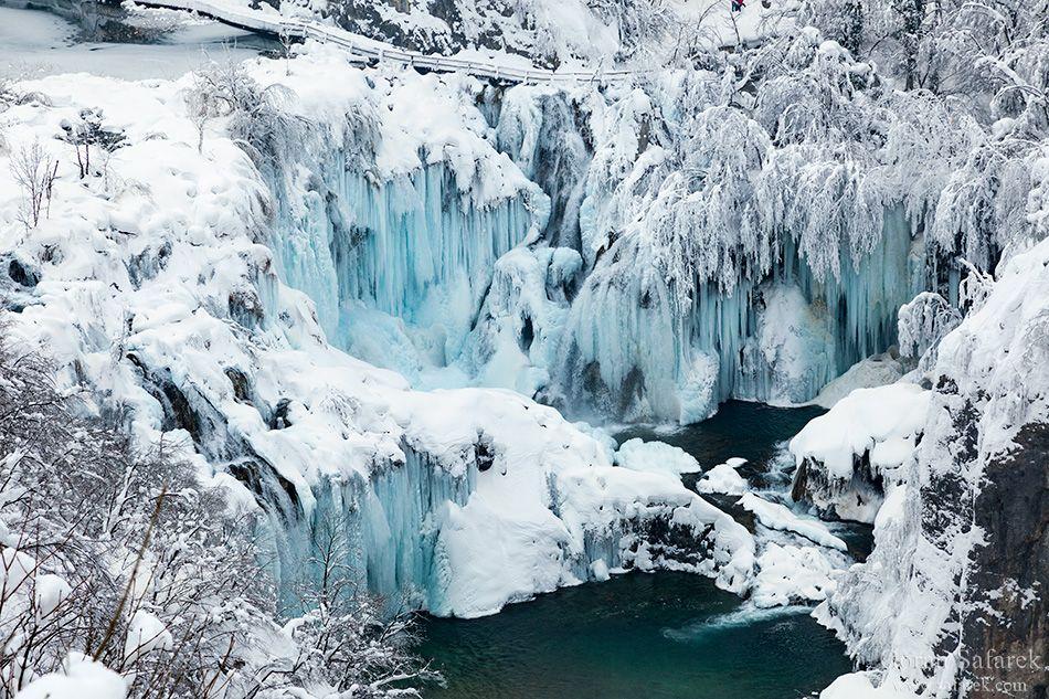 Winter Magic On The Plitvice Lakes Plitvice Lakes National