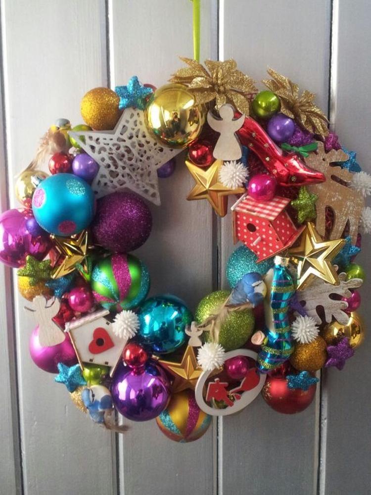 foto: kerst krans. geplaatst door jeanet75 op welke.nl | christmas