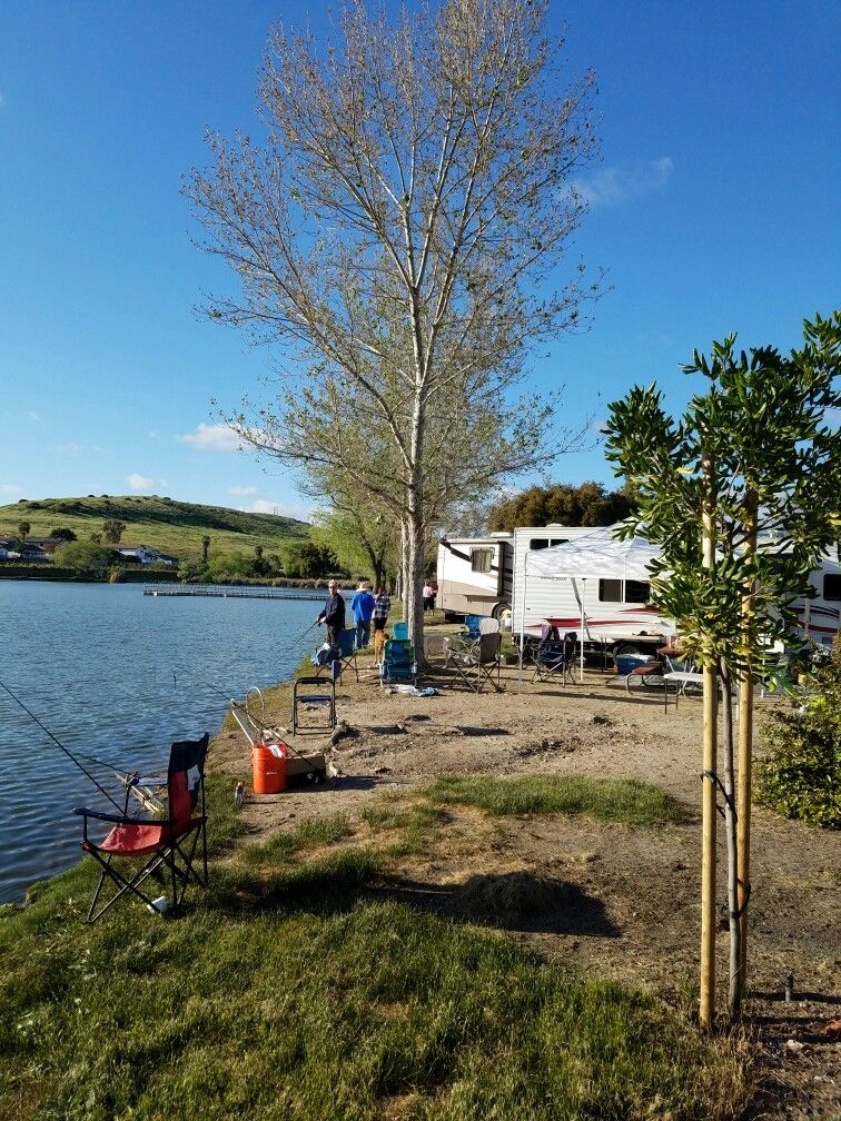 Best Family Camping Near San Diego Santee Lakes Fish