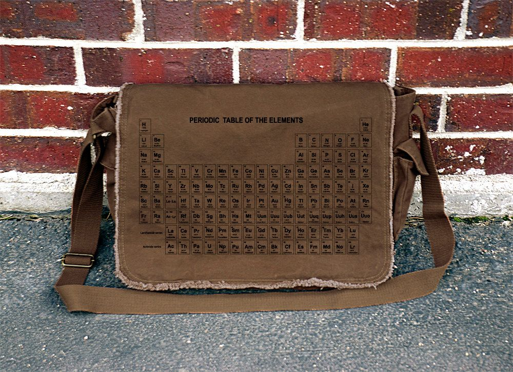 Periodic Table of Elements Messenger Bag Cool Bag Pinterest A - best of periodic table joke au