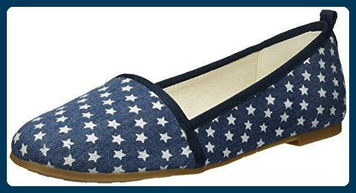 Tamaris Damen 24668 Slipper, Blau (Denim Stars 839), 40 EU