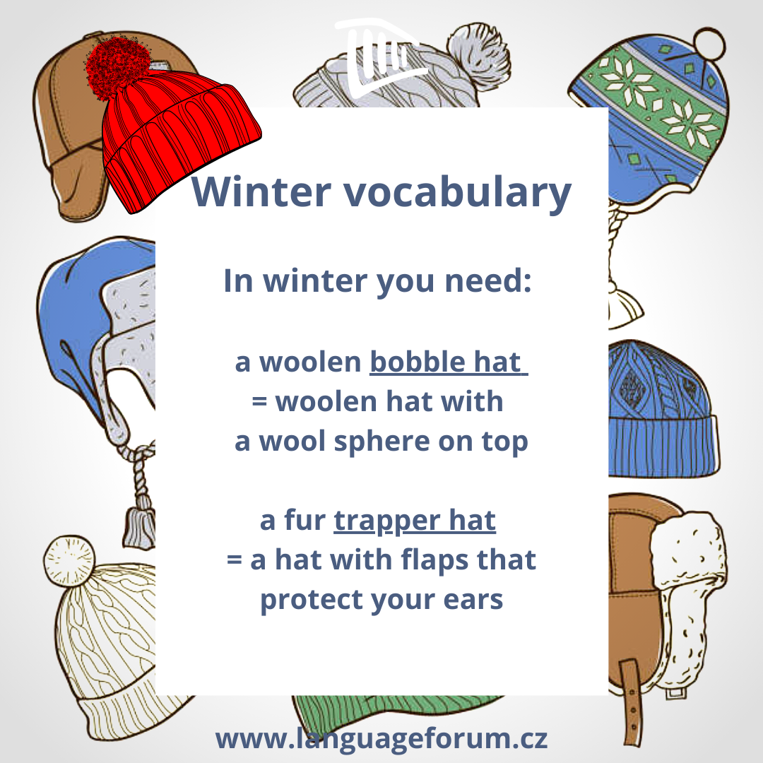 Let S Take A Deeper Look Into Winter Hat Vocabulary Because It Will Certainly Take Some Time Before We Can Say Hats Of In 2021 Winter Hats Fur Trapper Hat Bobble Hats