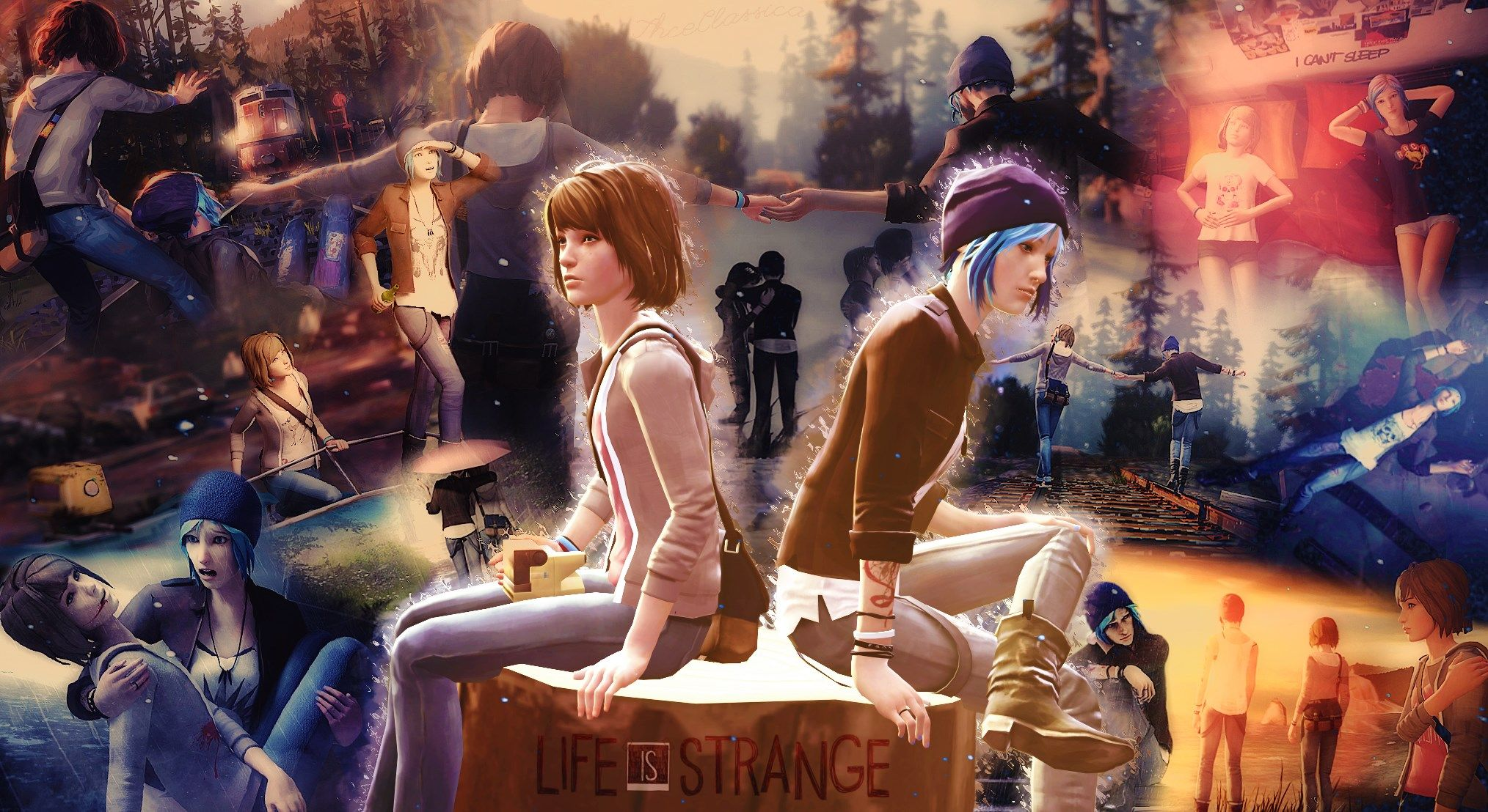 Life Is Strange Max Caulfield Chloe Price 1080p Wallpaper Hdwallpaper Desktop Life Is Strange Chloe Price Dontnod Entertainment