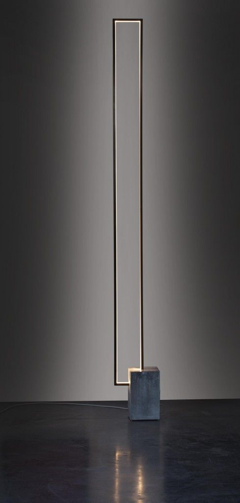 Mire Led Floor Lamp Design By Michel Cinier France Diy Furniture Simple Modern Floor Lamps Lamp Design Wall Lamp