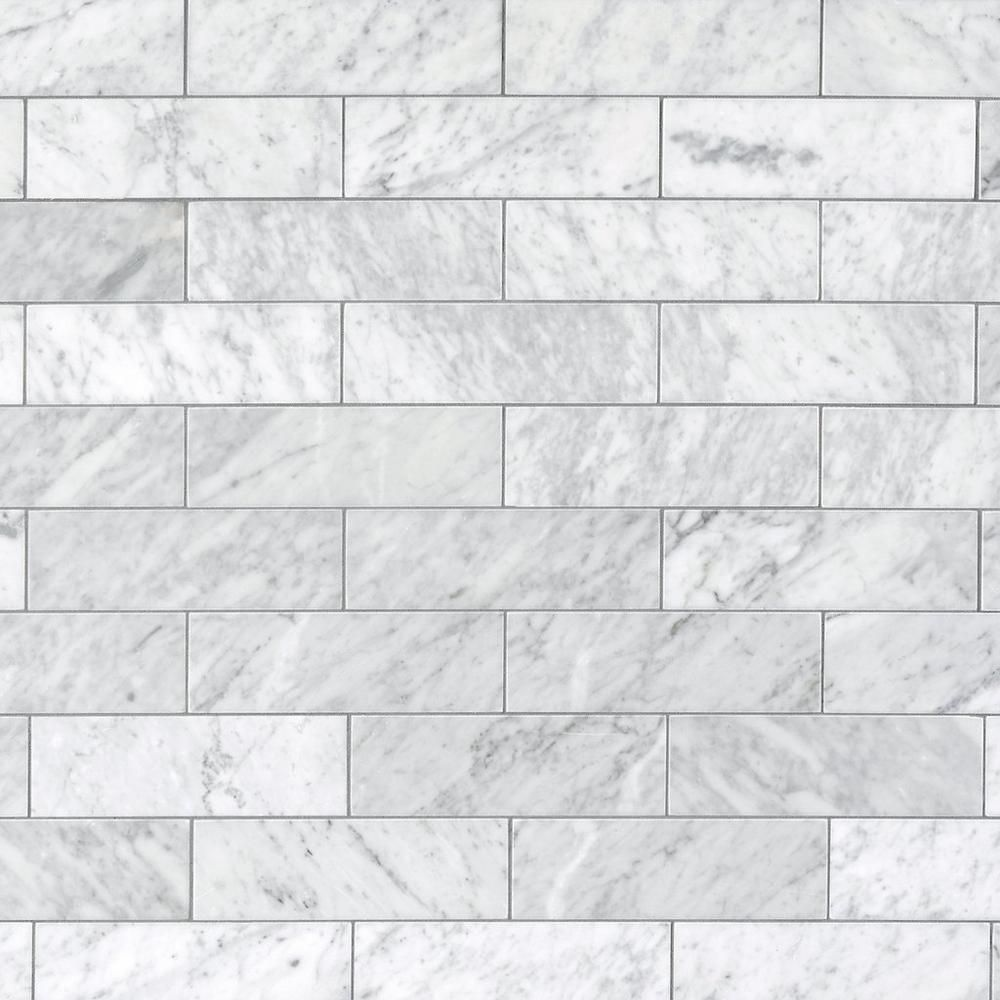 Bianco Carrara Honed Marble Tile Floor Decor Honed Marble Tiles Honed Marble Polished Marble Tiles
