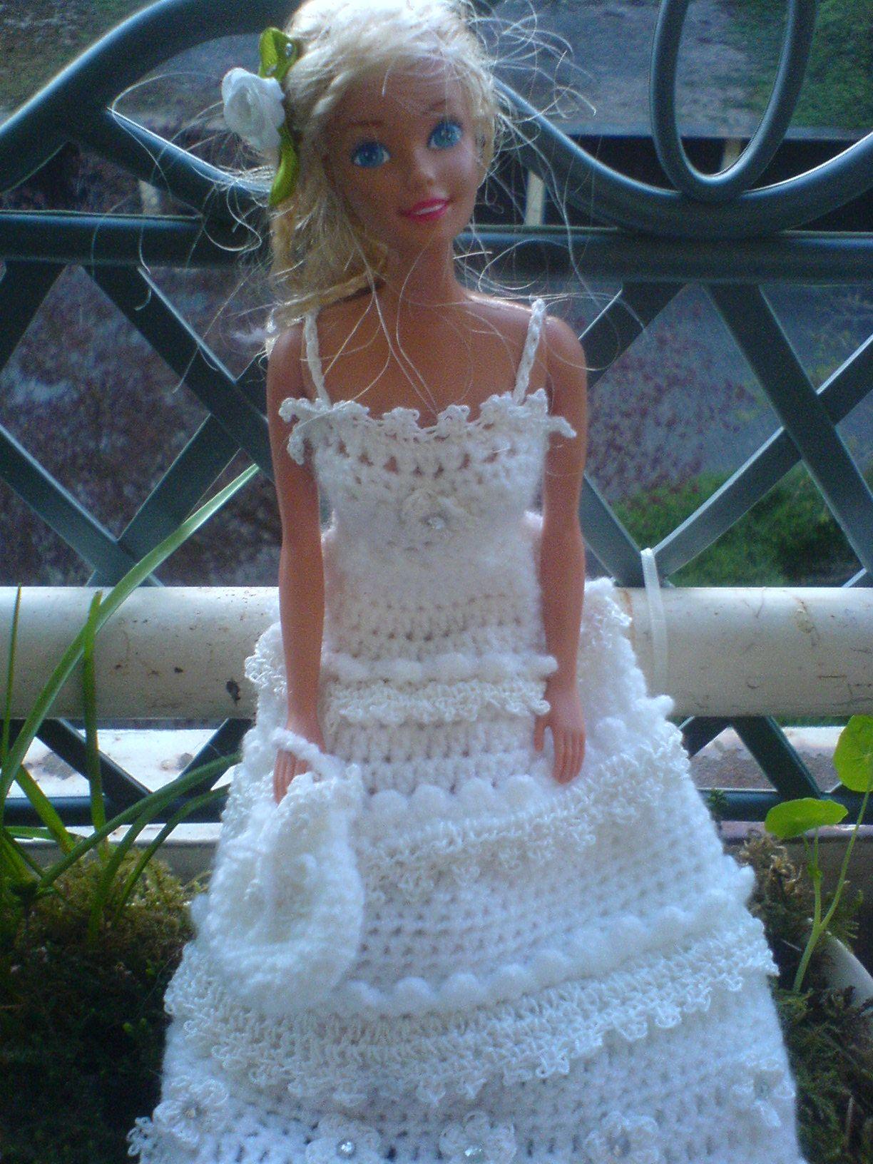 Brautkleid mit Tasche.... | babaruha | Pinterest | barbie ...