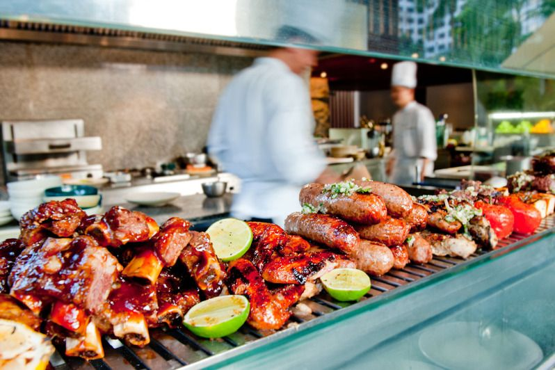 My Boyfriend And I Are Total Foodies And Being A Texan I Love Bbq This Would Be A Blast Hyatt Hotels Resorts And Hyattfree Bbq Dinner Beautiful Food Food