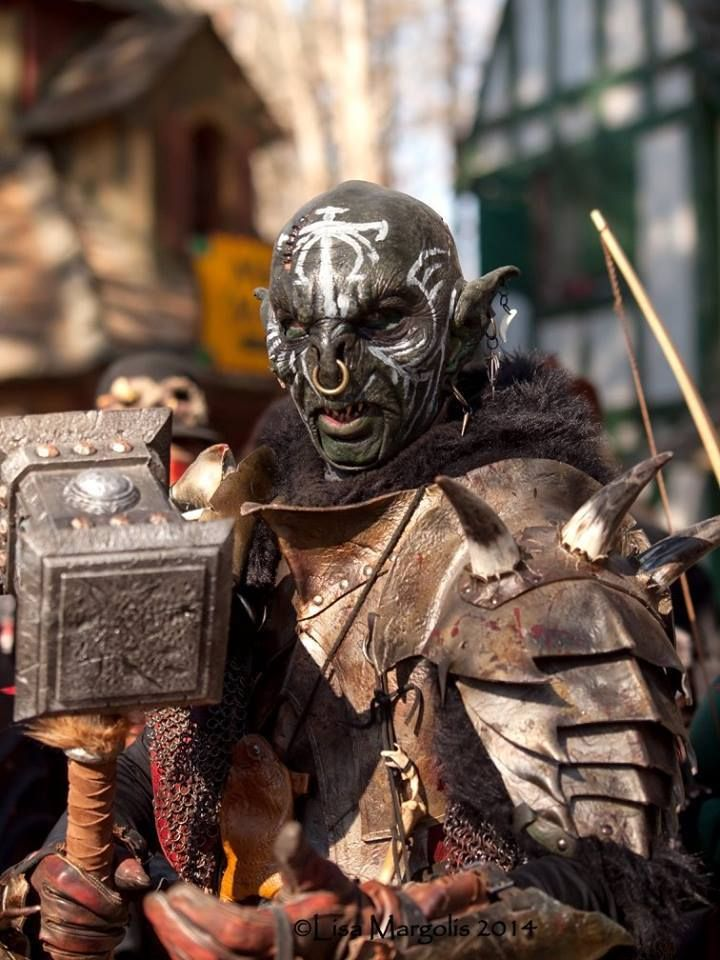 Orc (Lord of the Rings) Cosplayer/Armor: http://red-dragon-lord.deviantart.com/ Mask: Anders Leche