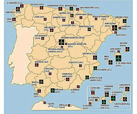 Aeropuertos rentables en España 2011