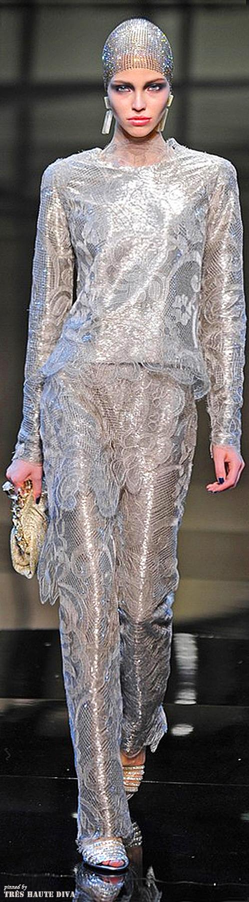 Giorgio Armani Privé Couture Spring 2014   The House of Beccaria~