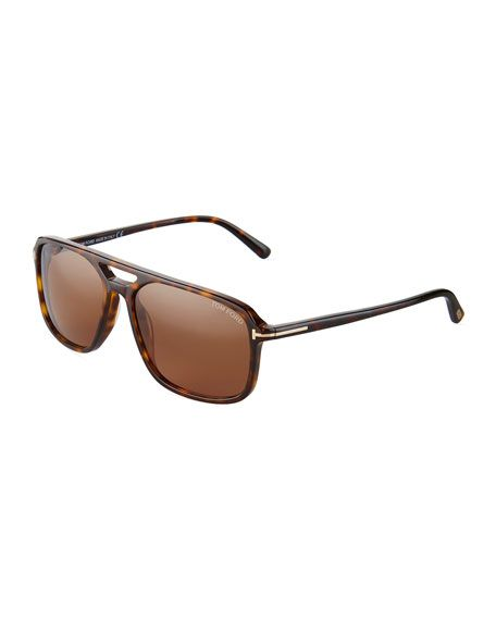 8120f702362a7 TOM FORD TERRY MEN S SQUARE ACETATE SUNGLASSES