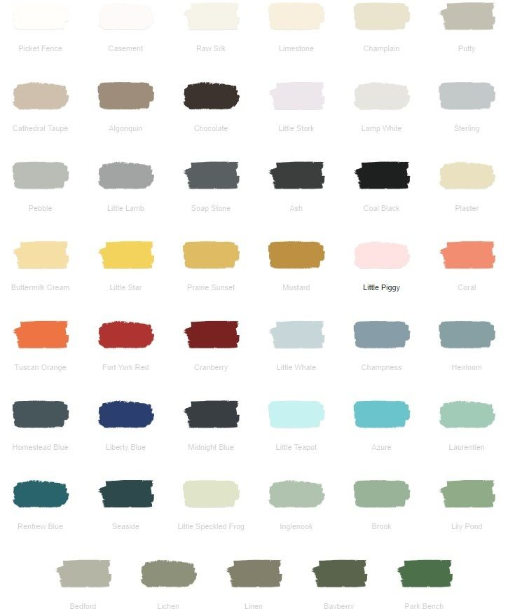 Colours With Images Mineral Paint Fusion Paint Furniture