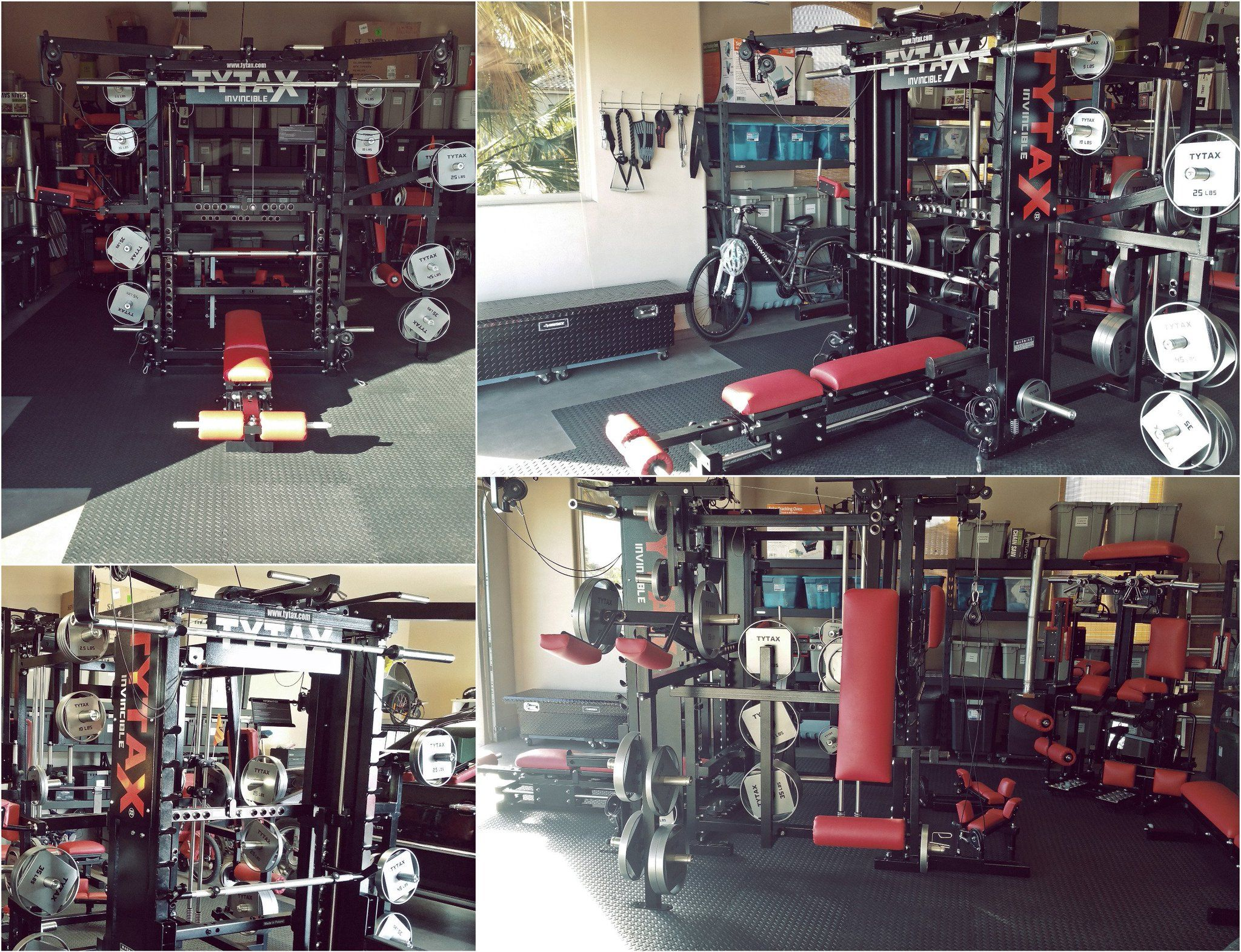 U garage gym experiment