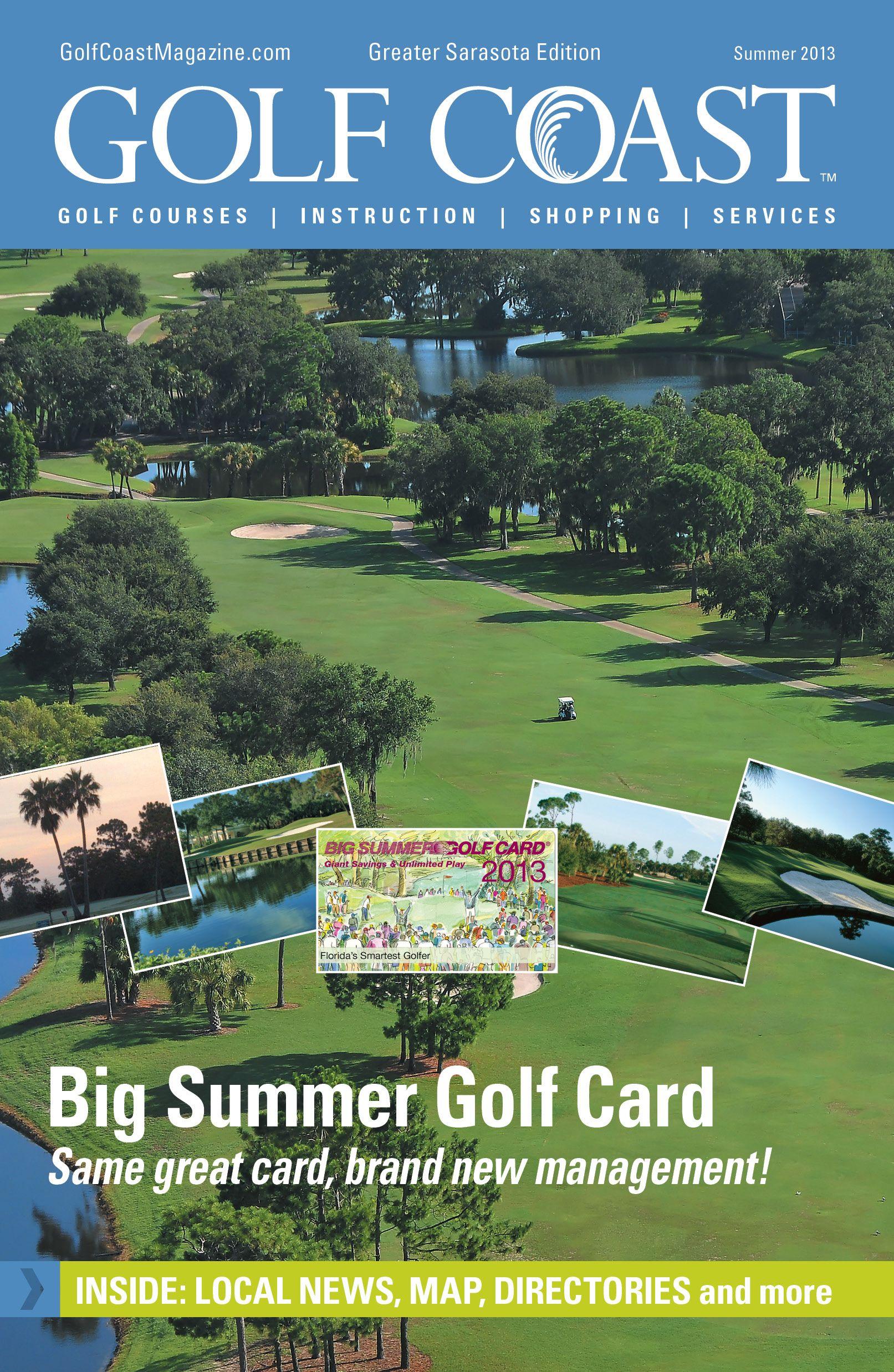 13+ Big summer golf card florida information