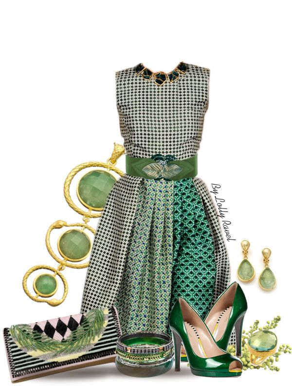 """Lady Leprechaun"" by lolly-ravel on Polyvore"