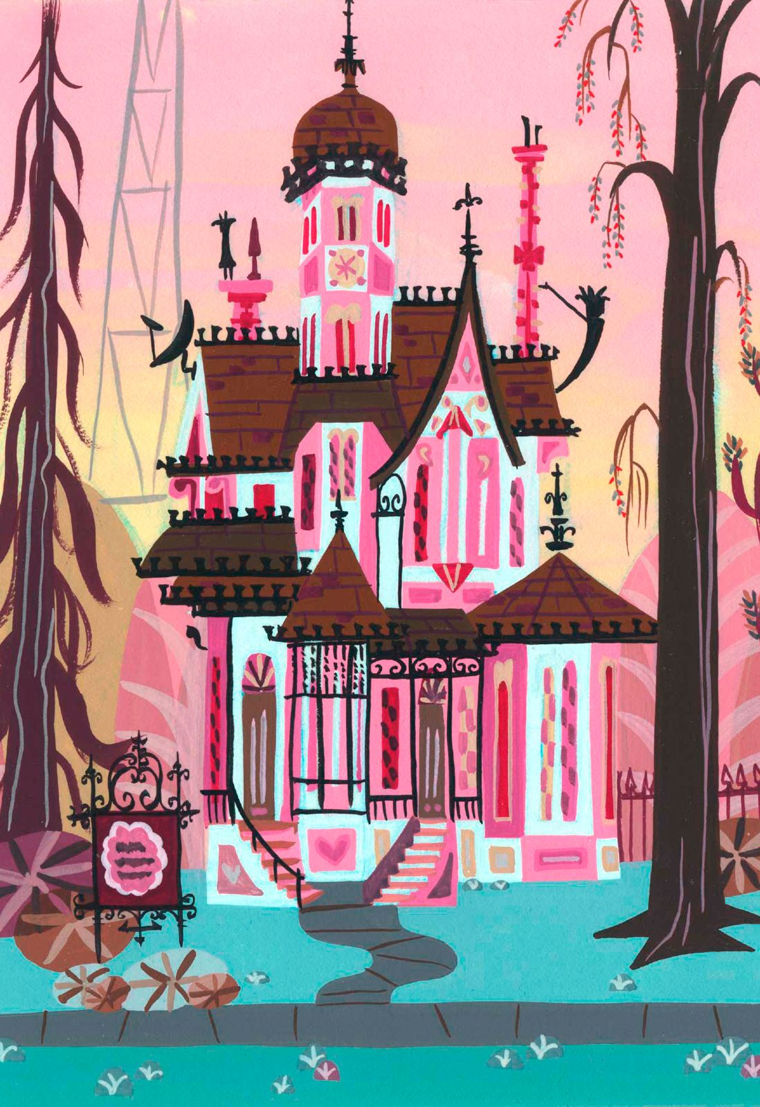 Foster's home for imaginary friends concept art - Carol Wyatt
