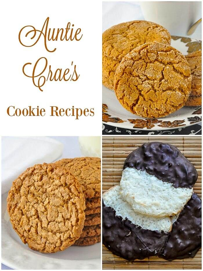 Auntie Craes Ginger Sugar Cookies These are sort of a less intense ginger cookie but their flavour and texture is still excellent and they are still very very addictive t...