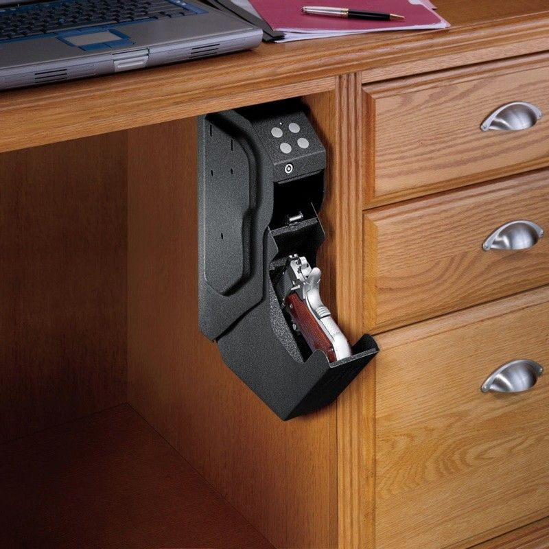 Hidden gun storage solutions that are cool and practical for Custom home safes