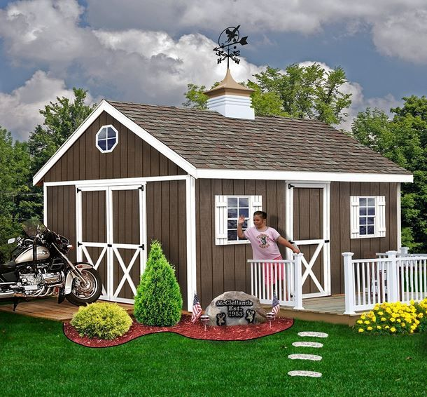 Rent To Own Sheds, Dallas, TX, Houston, Plano, Backyard, Outdoor