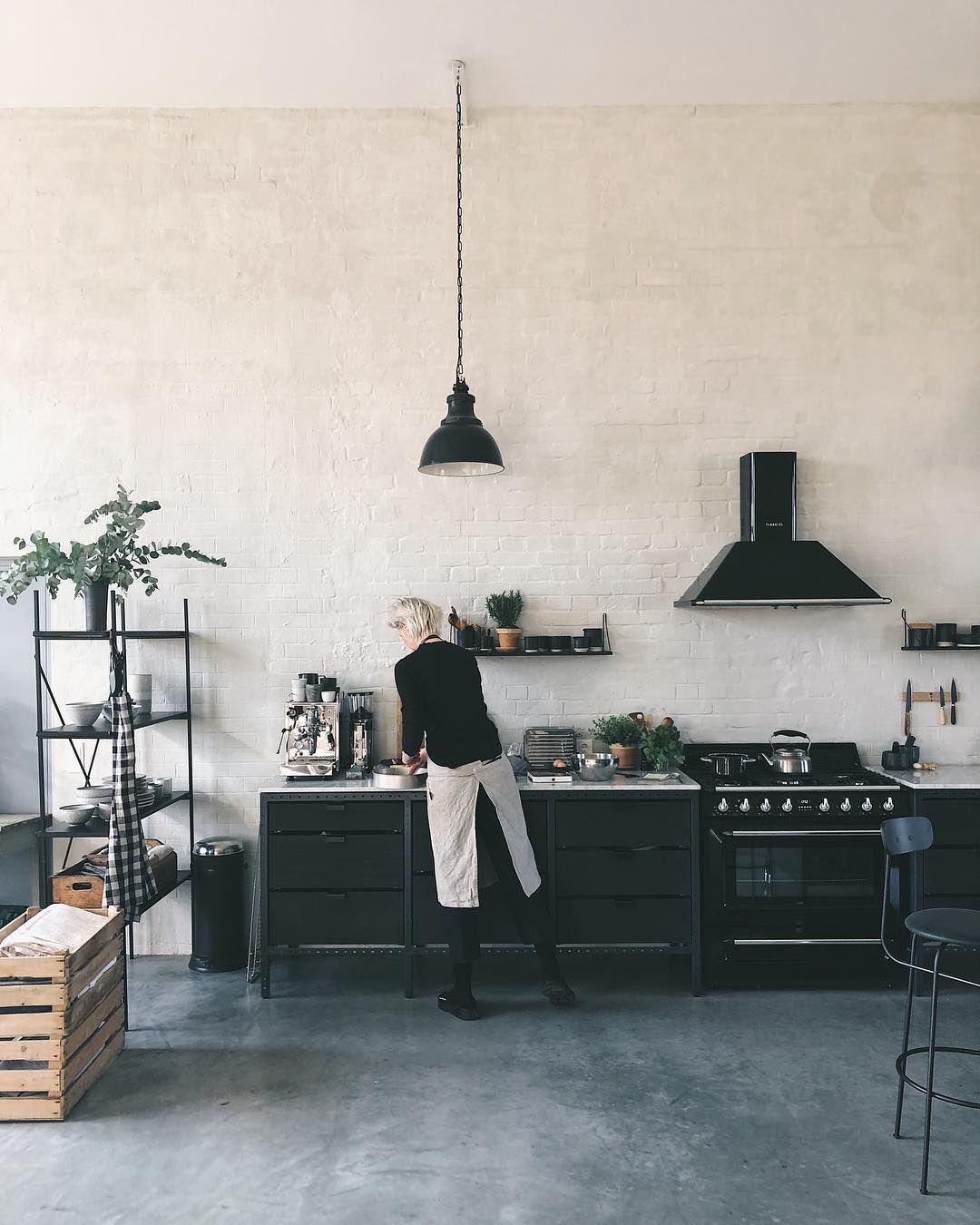 our berlin studio. industrial style kitchen - scandinavian