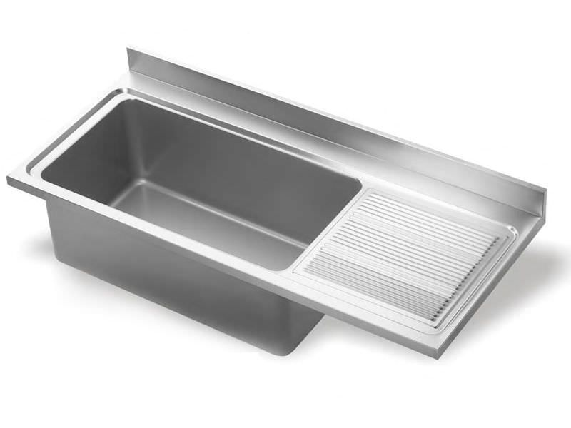 1Bowl Kitchen Sink  Stainless Steel  With Drainboard Alluring Kitchen Sinks With Drainboards Decorating Design