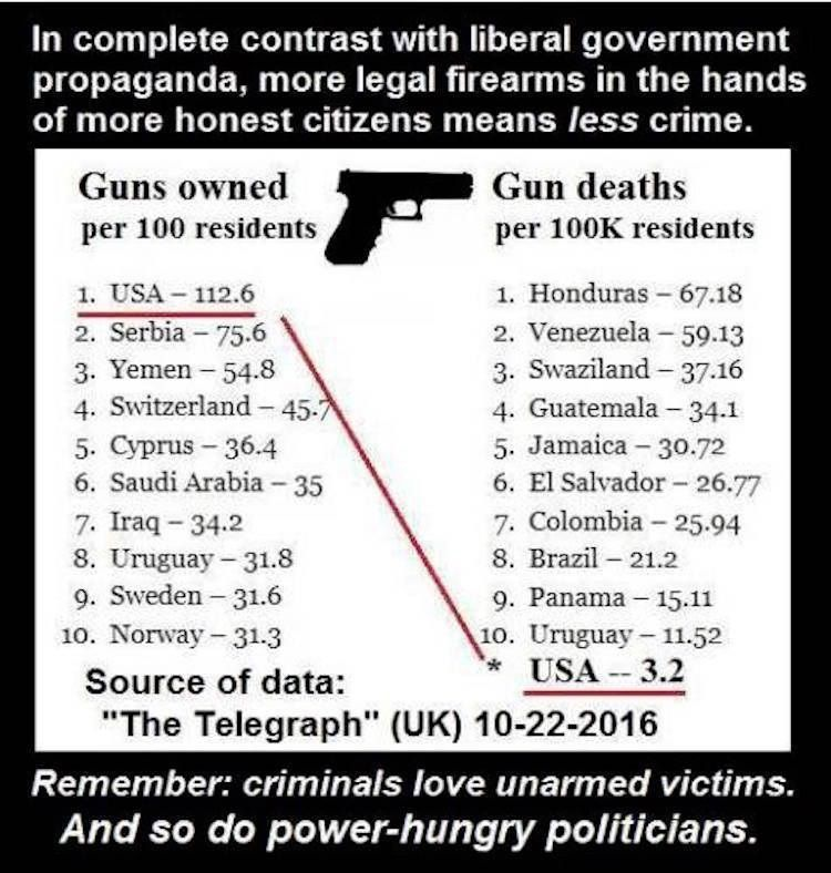 AMAZING! This Chart Will Shut Down EVERY Liberal on Gun Control - control chart