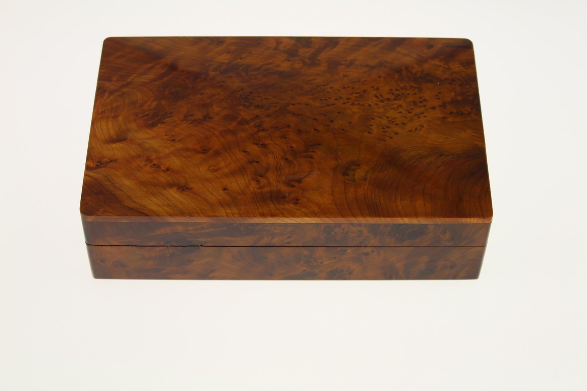 Magnifique boite en bois de thuya rectangulaire 20x12x5 5 - Decoration boite en bois ...