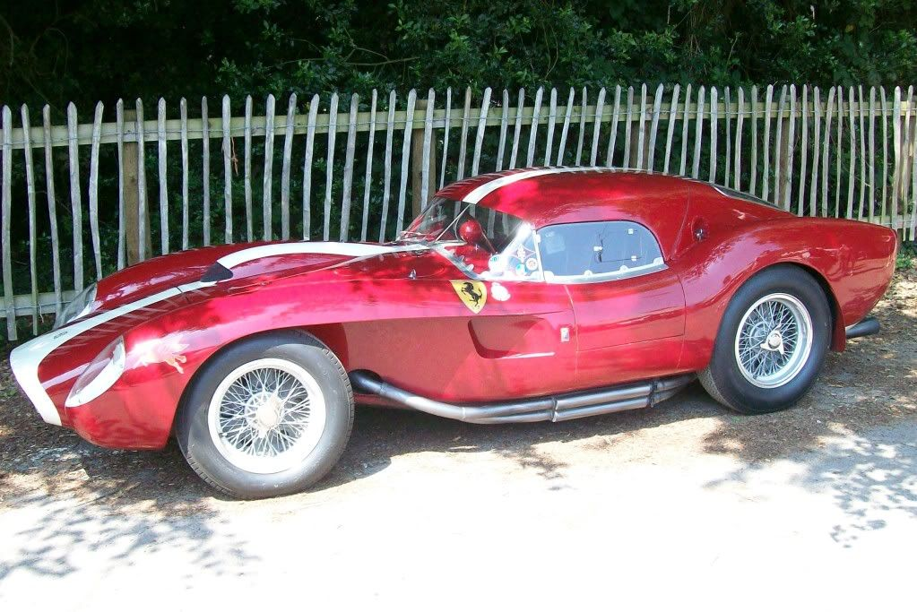 1958 ferrari 250 testa rossa coupe very rare at goodwood festival of speed 2011 engineering. Black Bedroom Furniture Sets. Home Design Ideas