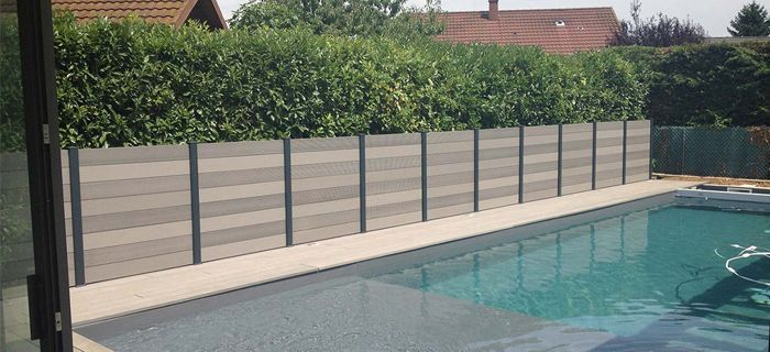 best wood plastic fence for pool wpc wood plastic. Black Bedroom Furniture Sets. Home Design Ideas