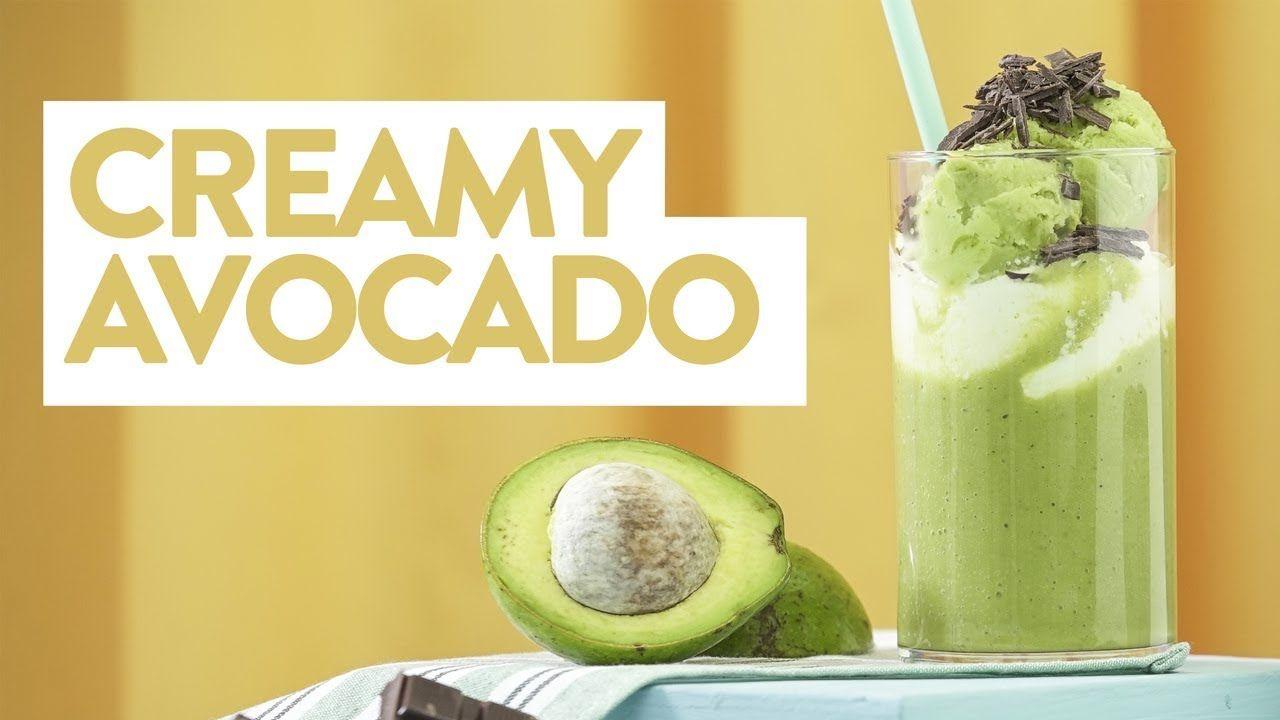 Resep Creamy Avocado Yuda Bustara Alpukat Resep