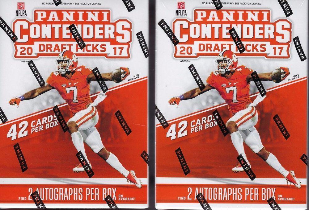 panini contenders football cards