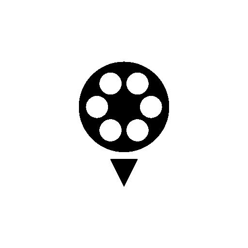 Film Reel Circular Shape Free Vector Icons Designed By Freepik Vector Icon Design Icon Film Reels