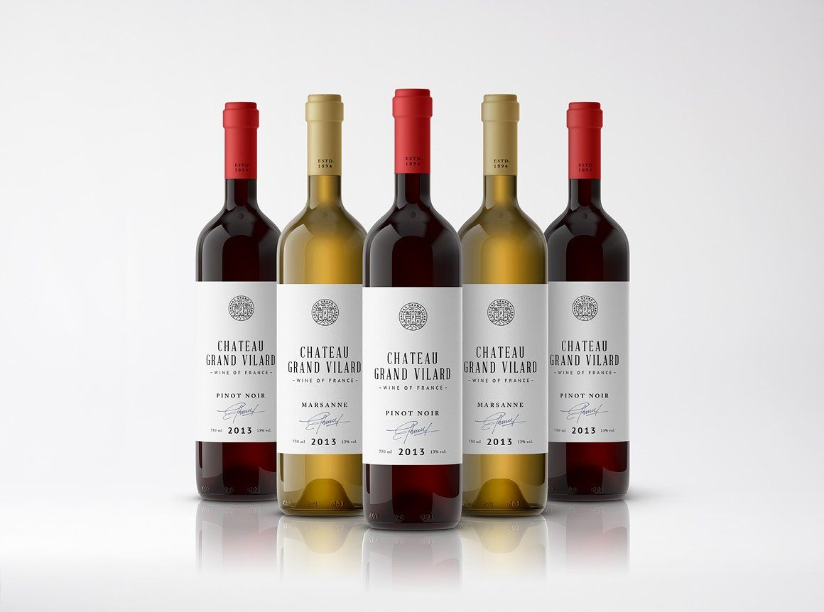 Download Wine Packaging Mockups Bottle Label Template Wine Packaging Wine Bottle