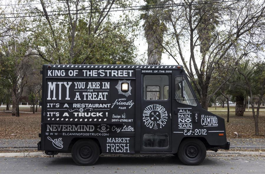 El Camino Foodtruck Identity Inspiration Food Truck Food Truck